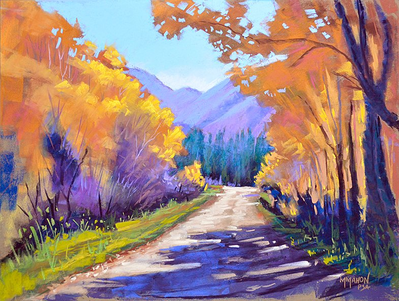 Autumn Color Art Landscape workshops by Mike Mahon