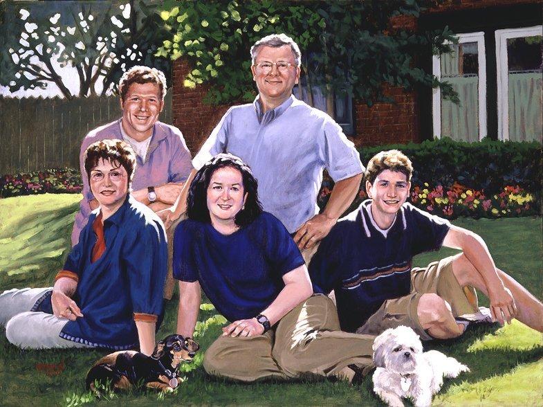 David Alicia's Family