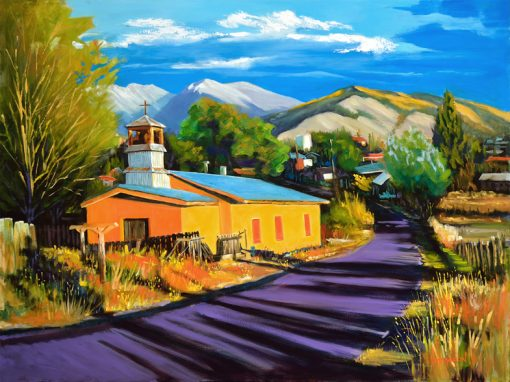 Oil Landscape by Mike Mahon-Truchas