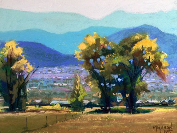 Taos Village Vista by Mike Mahon
