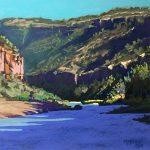Rio Grande Corner Landscape Mike Mahon