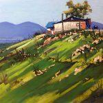 Truchas Cliff Hanger Landscape Mike Mahon