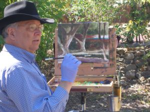 Mike Mahon teaches plein air workshop