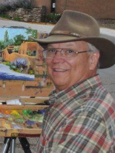 Mike Mahon in Santa Fe, New Mexico