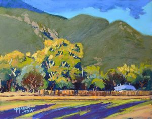 Taos Mountain Pasture by Mike Mahon