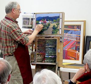 pastel Demonstration by Mike Mahon