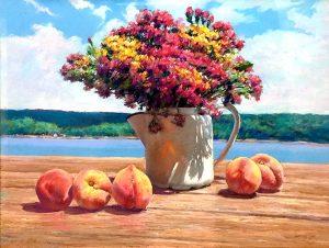 Pastel painting by Ben Konis
