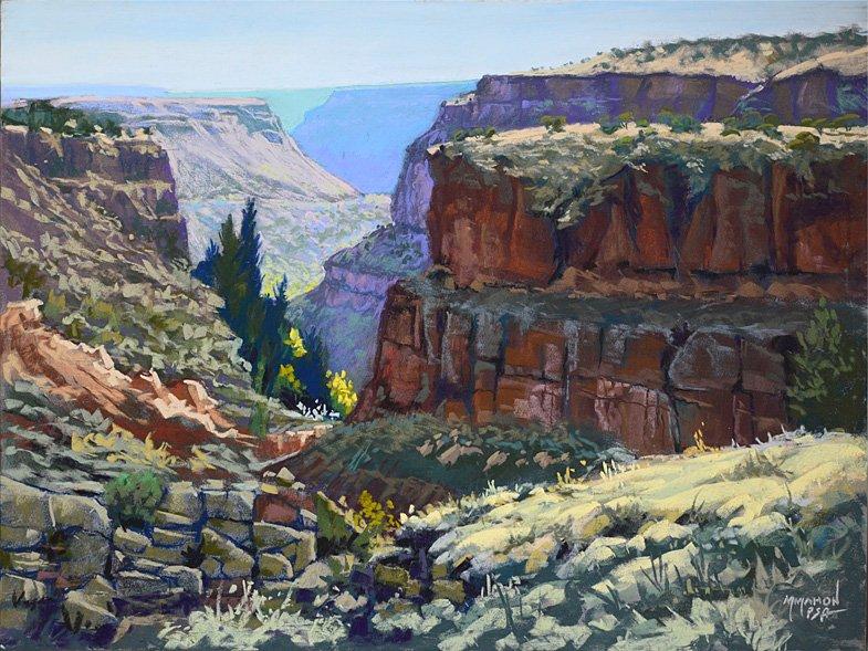 Rio Grande Gorgeous pastel landscape