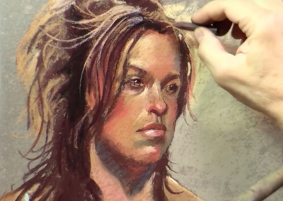 Pastel Portrait Speed VIDEO Demo