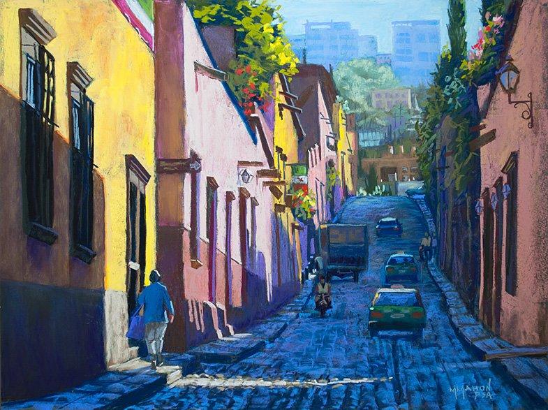 Timeles San Miguel-Landscape-Paintings-Pastel